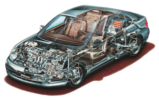 Toyota Prius (First Generation)