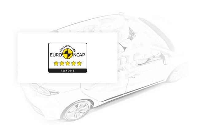 Последние европейские стандарты безопасности в Hyundai IONIQ Electric