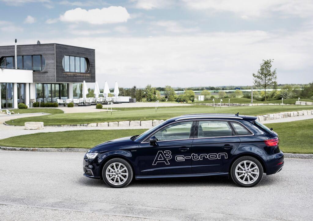 Плагин-гибрид Audi A3 Sportback e-tron