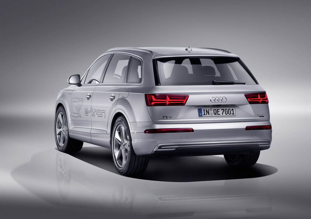 Фотография экоавто Audi Q7 e-tron Quattro - фото 31