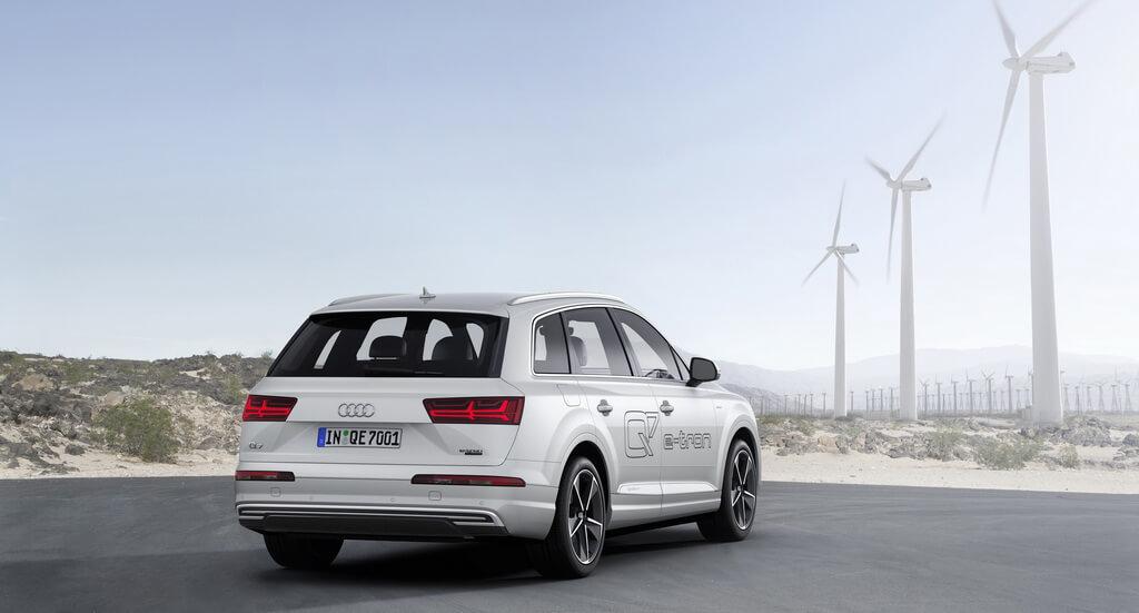 Фотография экоавто Audi Q7 e-tron Quattro - фото 37