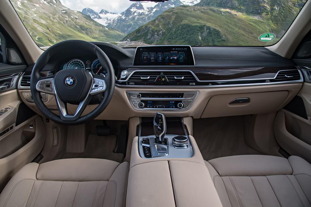 Фотография экоавто BMW 740e xDrive iPerformance - фото 24