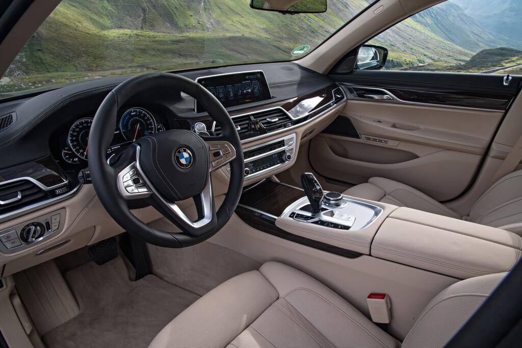 Фотография экоавто BMW 740e xDrive iPerformance - фото 25