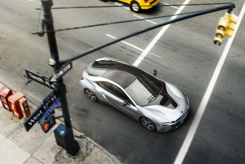 Фотография экоавто BMW i8 - фото 12