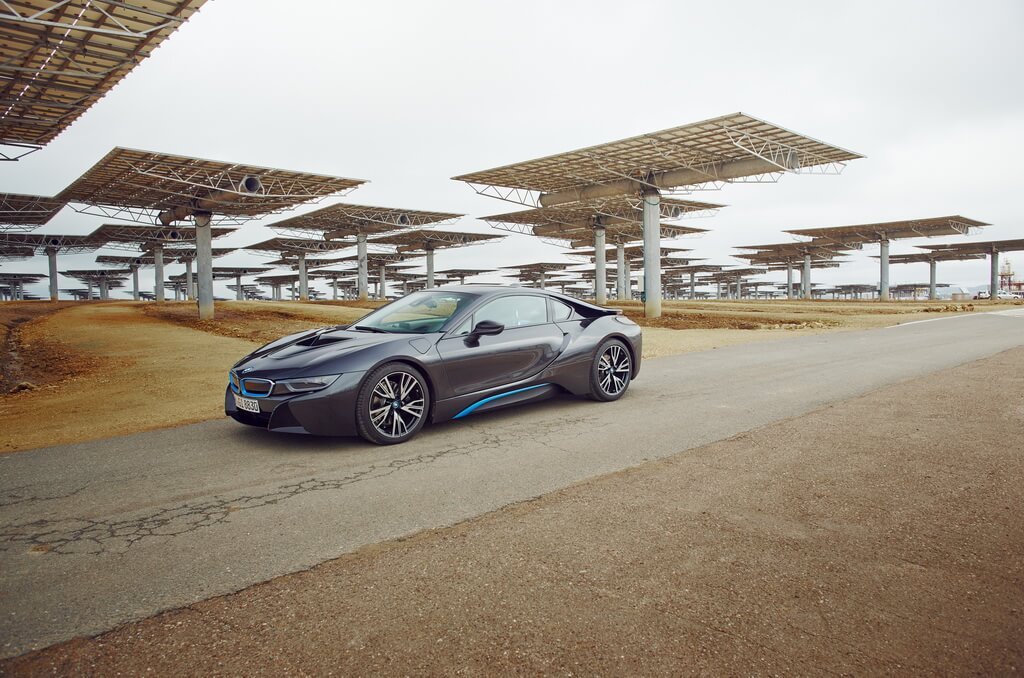 Фотография экоавто BMW i8 - фото 41