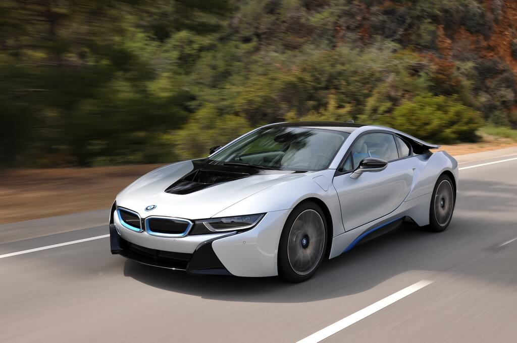 Фотография экоавто BMW i8 - фото 74