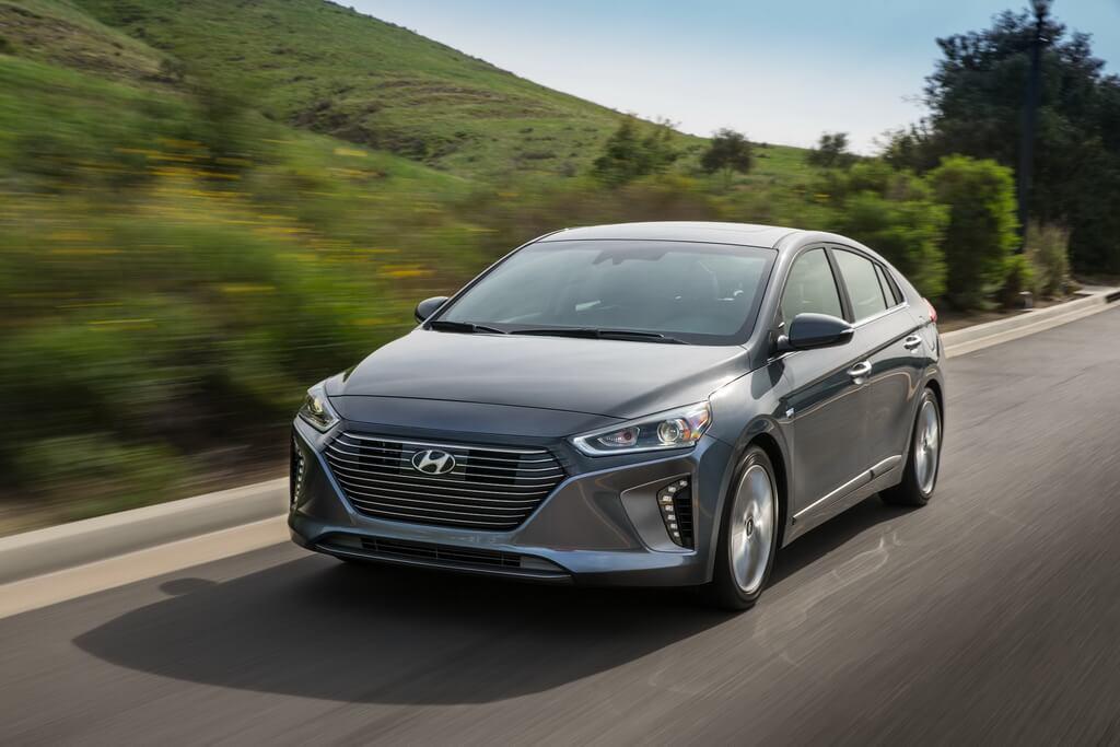 Фотография экоавто Hyundai Ioniq Hybrid - фото 7