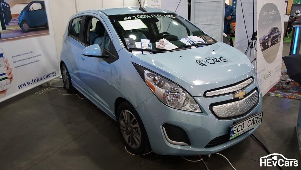 Chevrolet Spark EV на выставке Plug-In Ukraine 2017