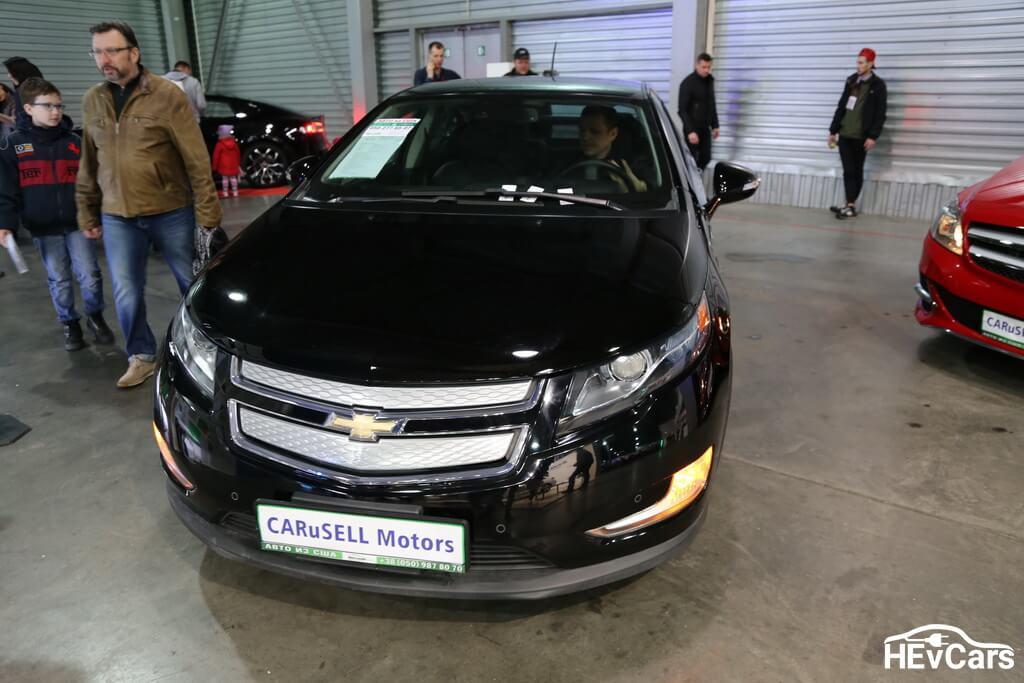 Chevrolet Volt на выставке Plug-In Ukraine 2017