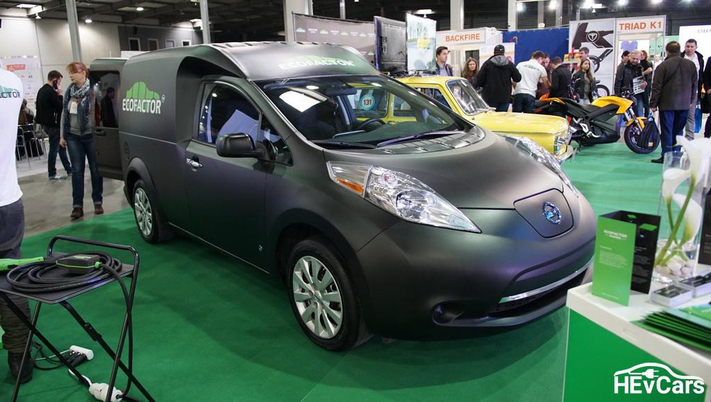 Nissan Leaf Cargo на выставке Plug-In Ukraine 2017