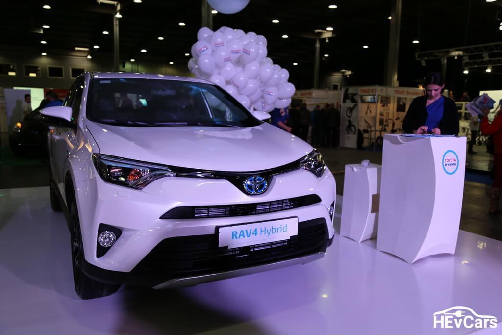 Toyota RAV4 на выставке Plug-In Ukraine 2017