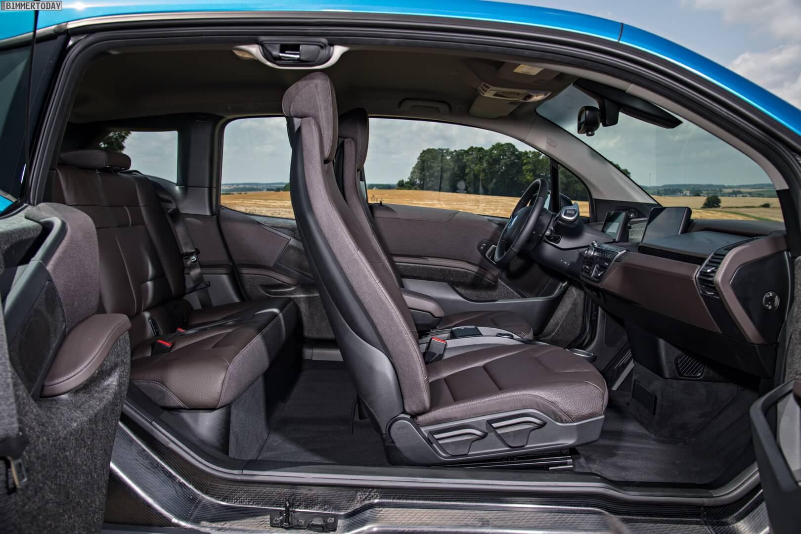 Электромобиль BMW i3 из переработанных материалов