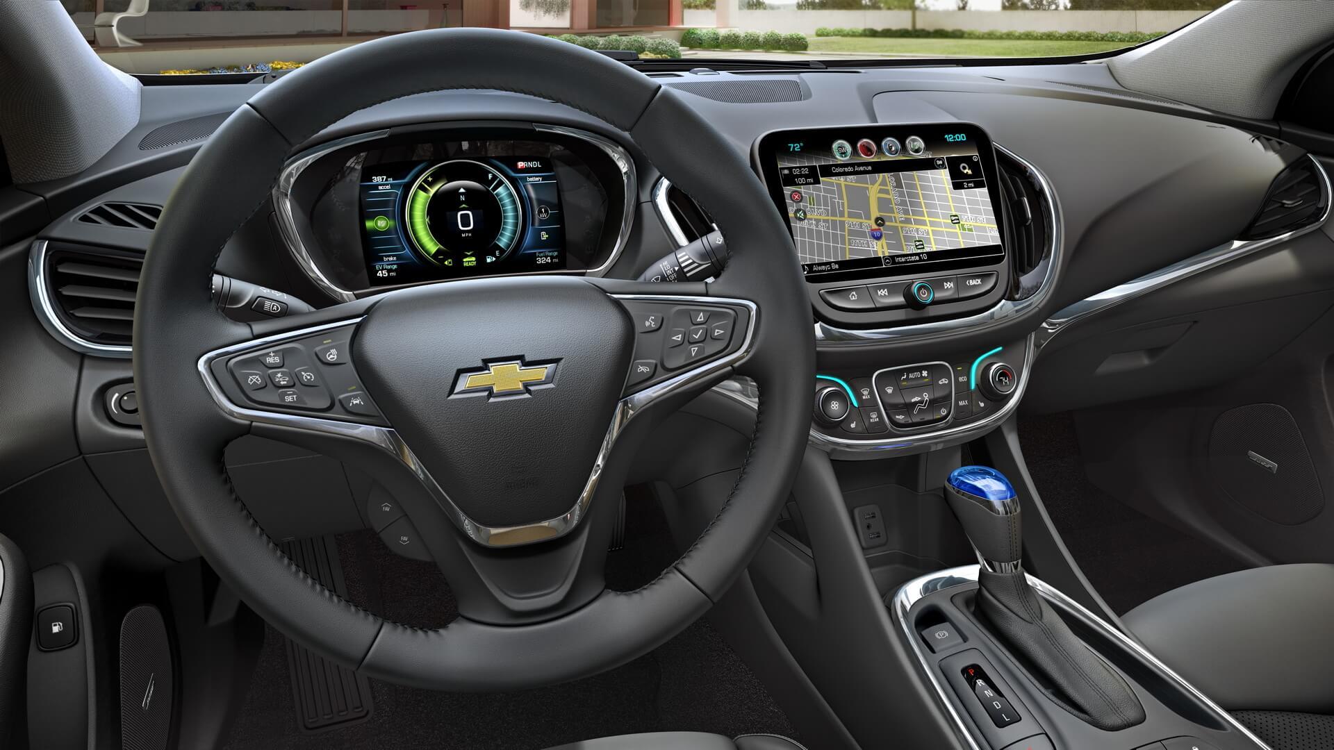 Фотография экоавто Chevrolet Volt 2016 - фото 29