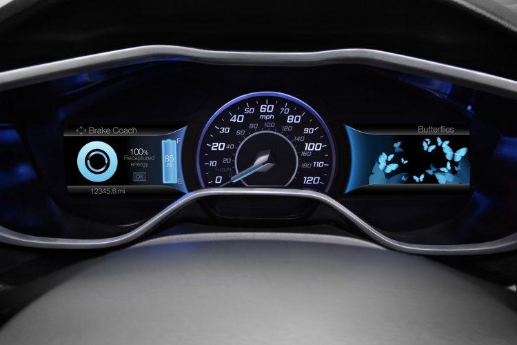 Рекуперация Ford Focus Electric
