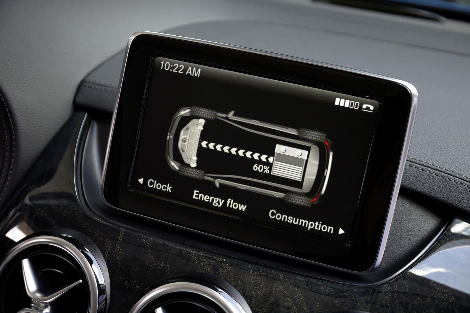 Фотография экоавто Mercedes-Benz B-Class Electric Drive - фото 16