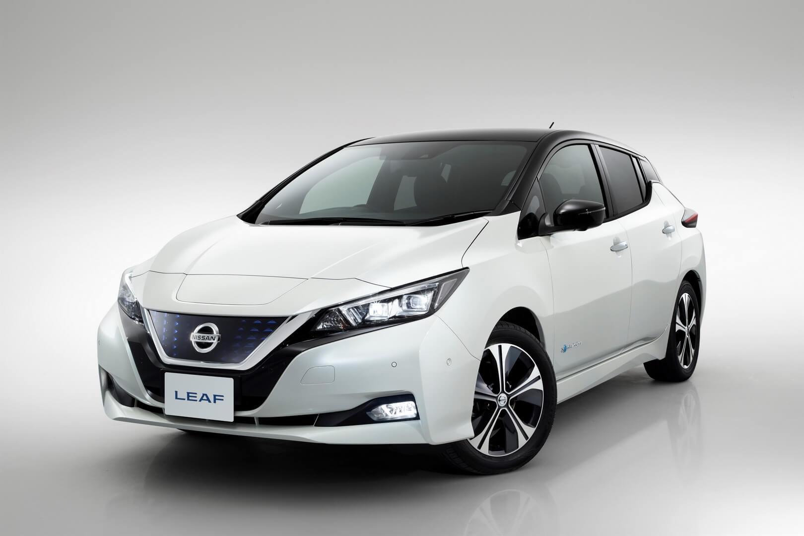 Nissan Leaf 2018(40кВт⋅ч)
