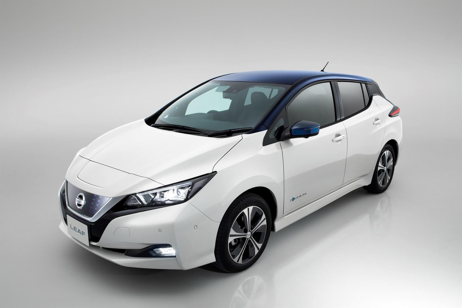 Новая модель Nissan Leaf 2018