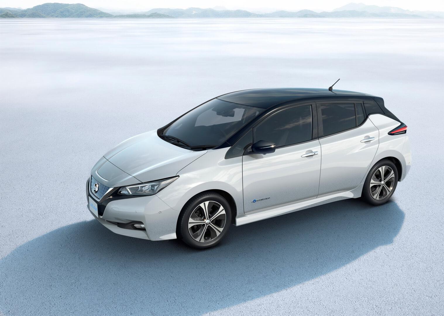 Второе поколение Nissan Leaf 2018