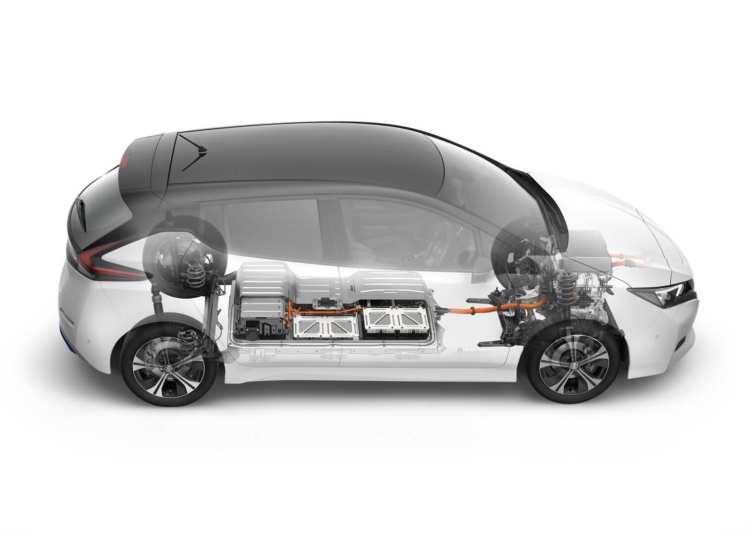 Шасси и корпус Nissan Leaf 2018