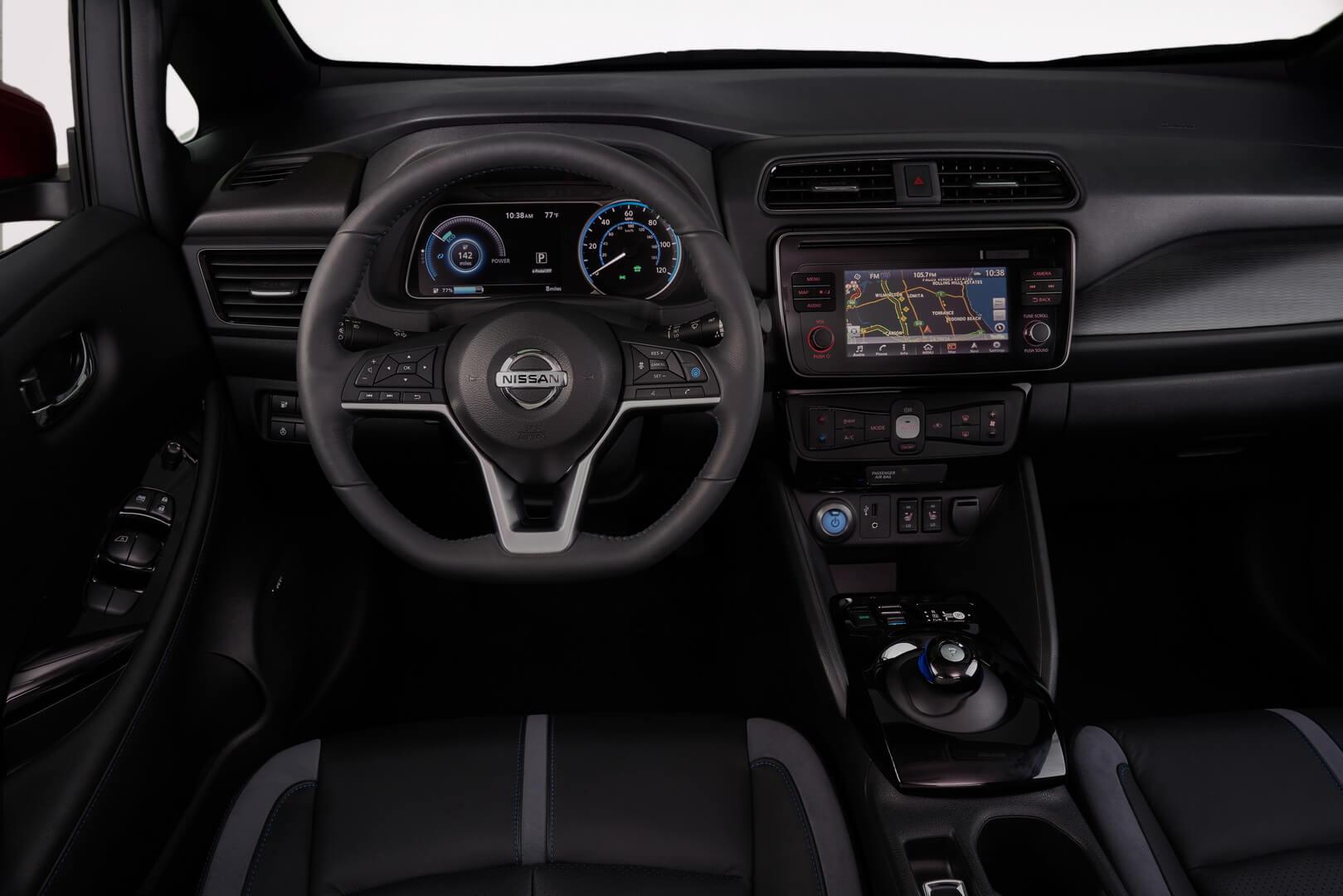 Торпедо в Nissan Leaf 2018