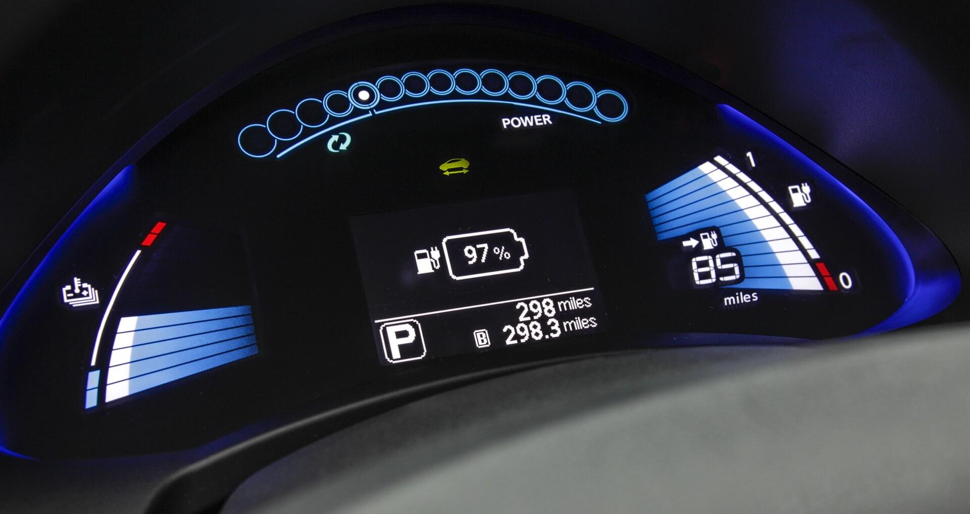 Фотография экоавто Nissan Leaf 2013 (24 кВт•ч) - фото 29