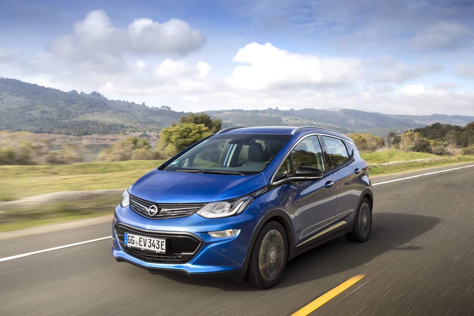 Фотография экоавто Opel Ampera-e - фото 7