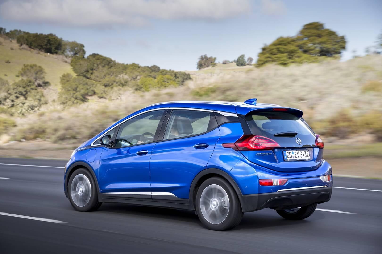 Фотография экоавто Opel Ampera-e - фото 11