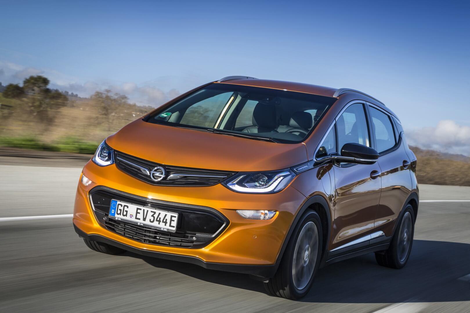 Электромобиль Opel Ampera-e для европейского рынка