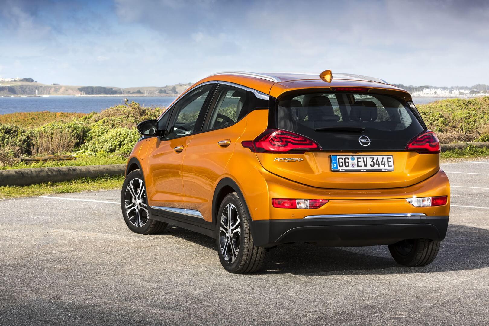 Фотография экоавто Opel Ampera-e - фото 23