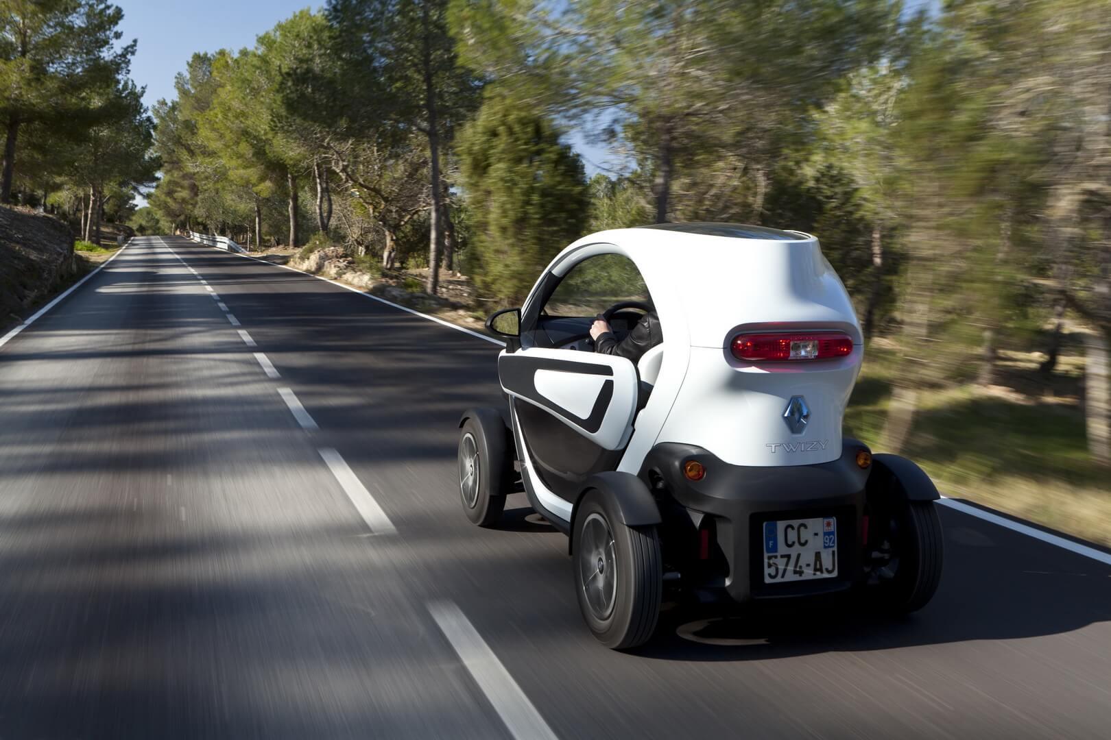Фотография экоавто Renault Twizy 45 - фото 6