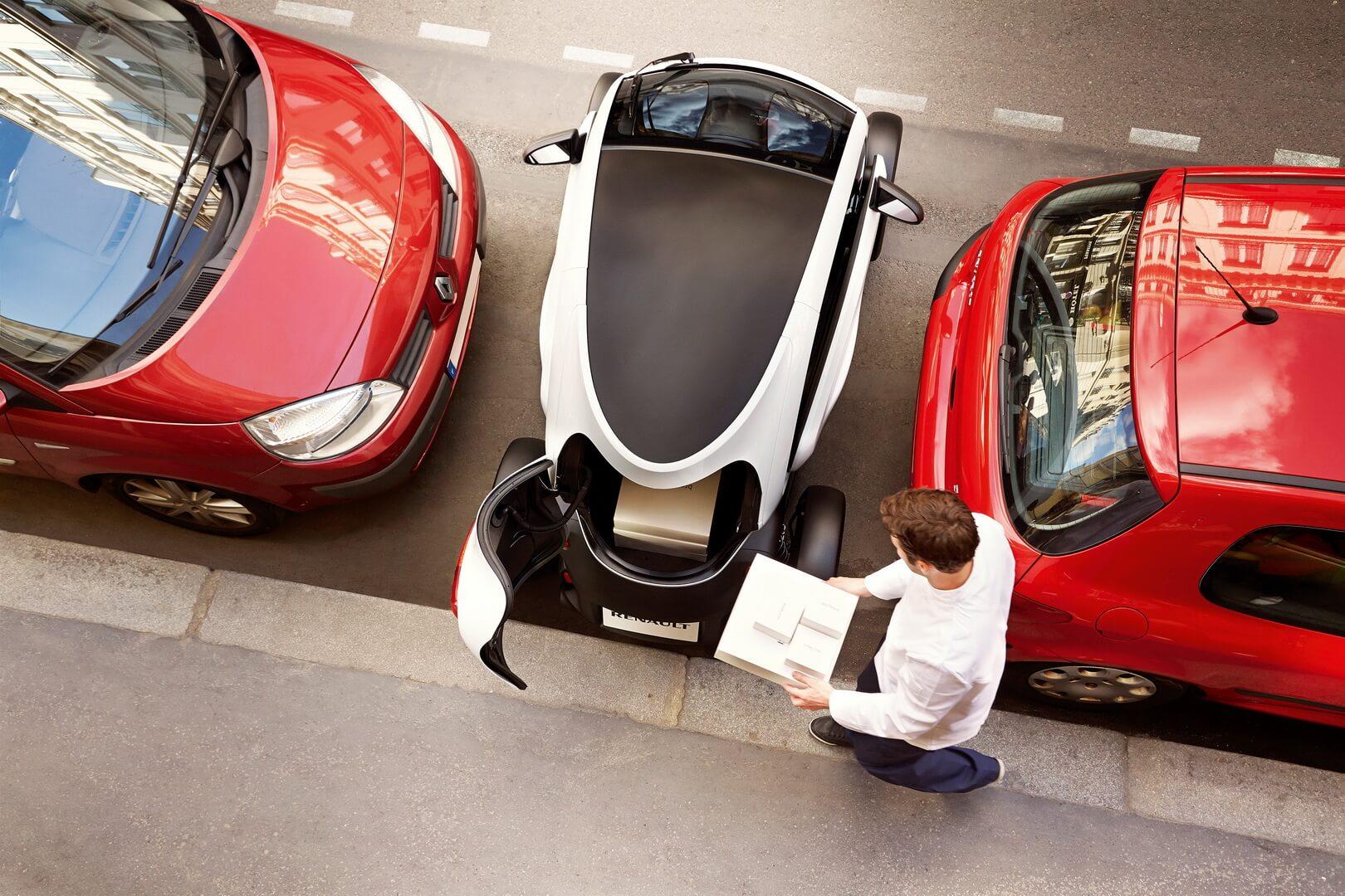 Фотография экоавто Renault Twizy 45 - фото 23