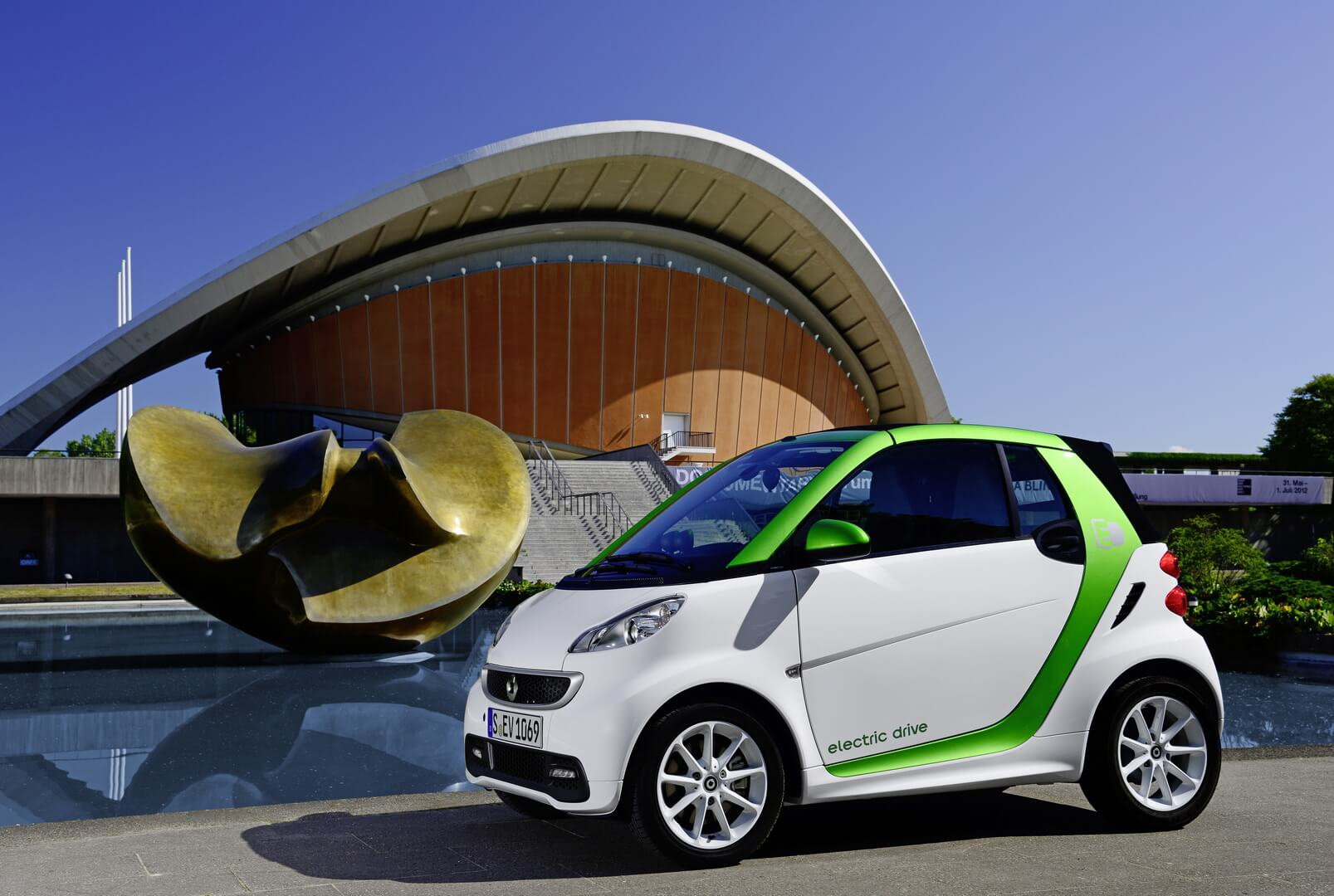 Фотография экоавто Smart Fortwo Electric Drive 2012 - фото 16