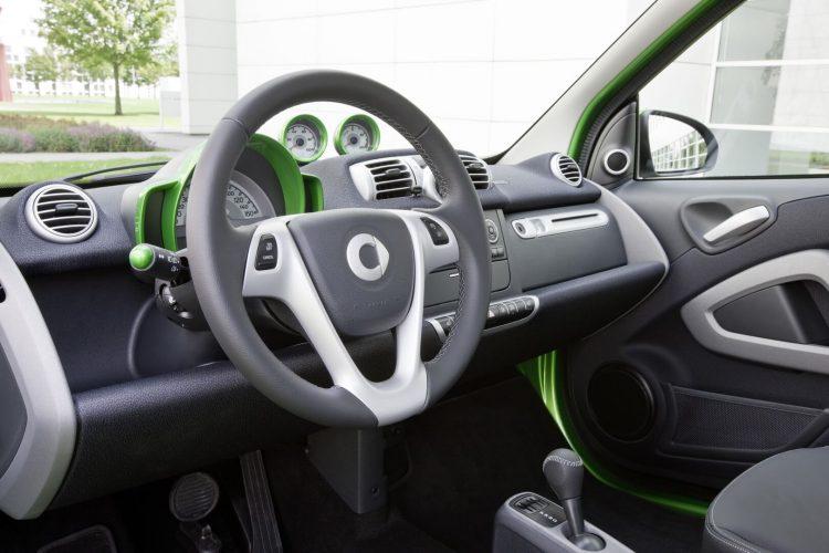 Салон Smart Fortwo Electric Drive