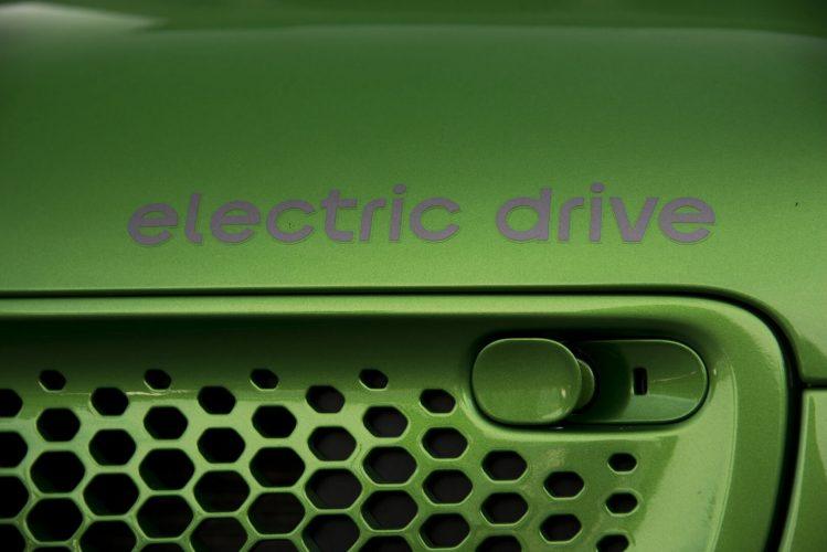 Надпись Electric Drive