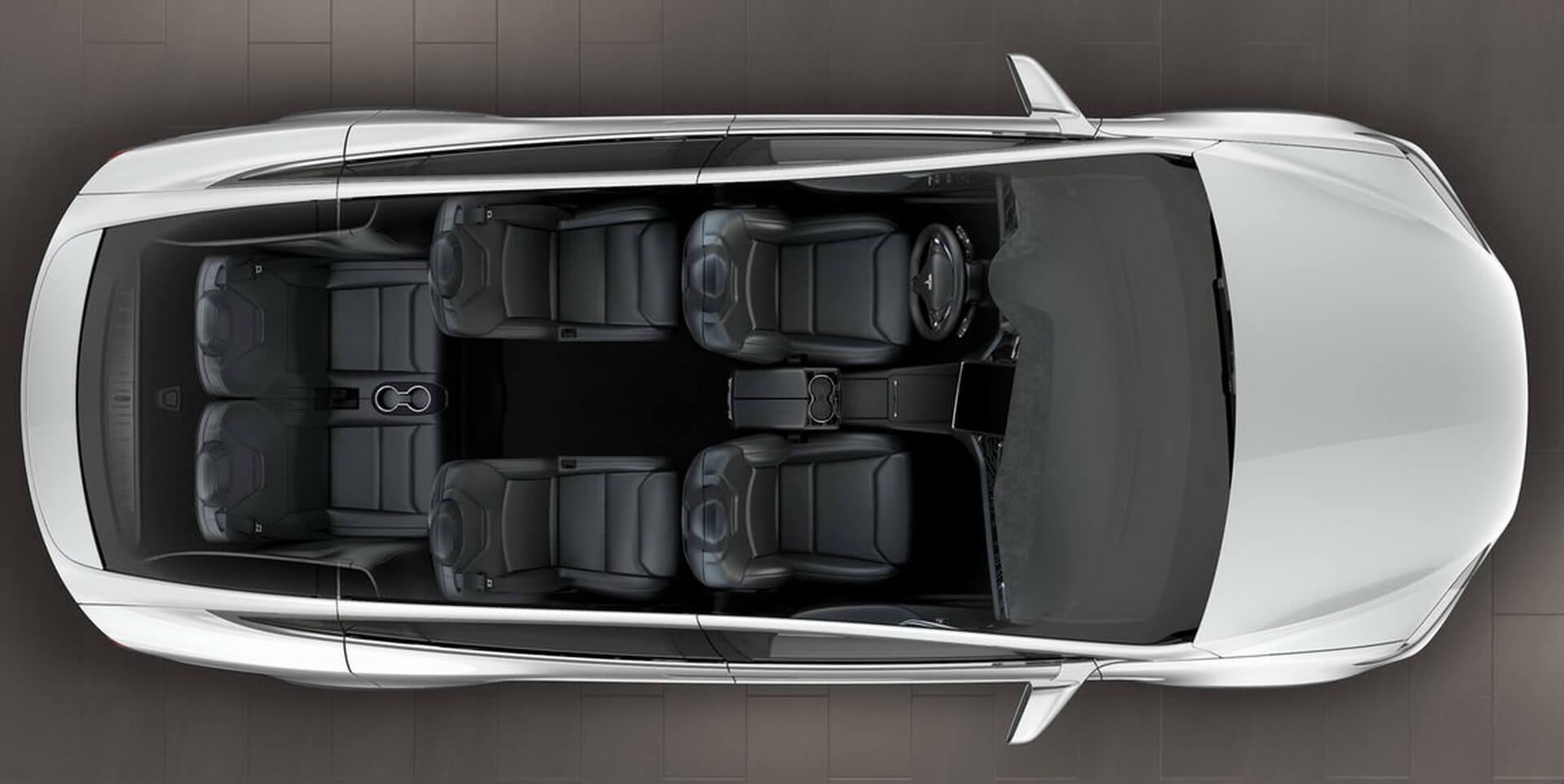 Фотография экоавто Tesla Model X P100D (Performance) - фото 16