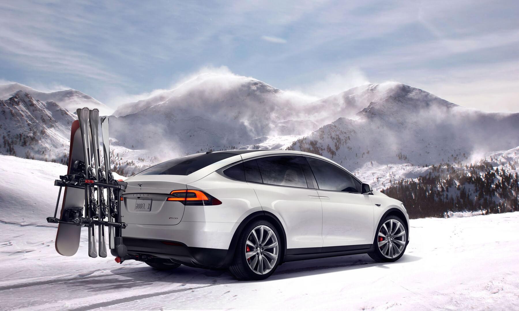 Фотография экоавто Tesla Model X P90D - фото 6