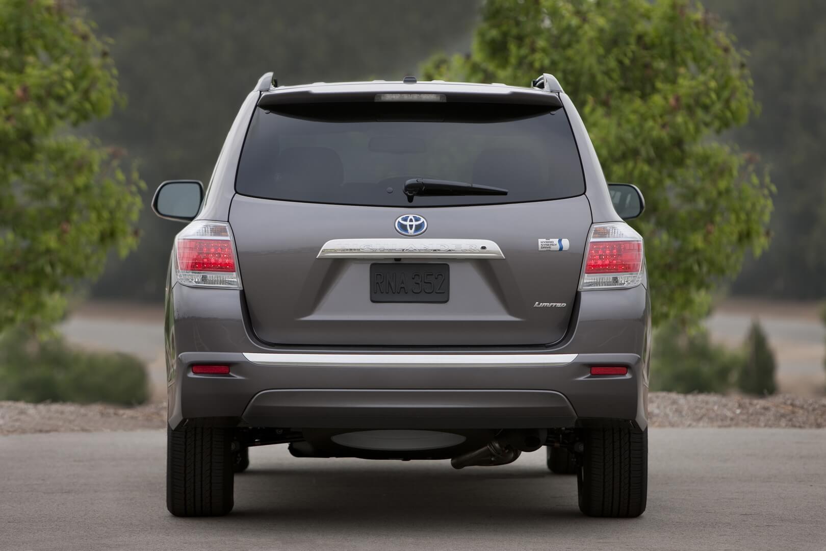 Фотография экоавто Toyota Highlander Hybrid 2011 - фото 2