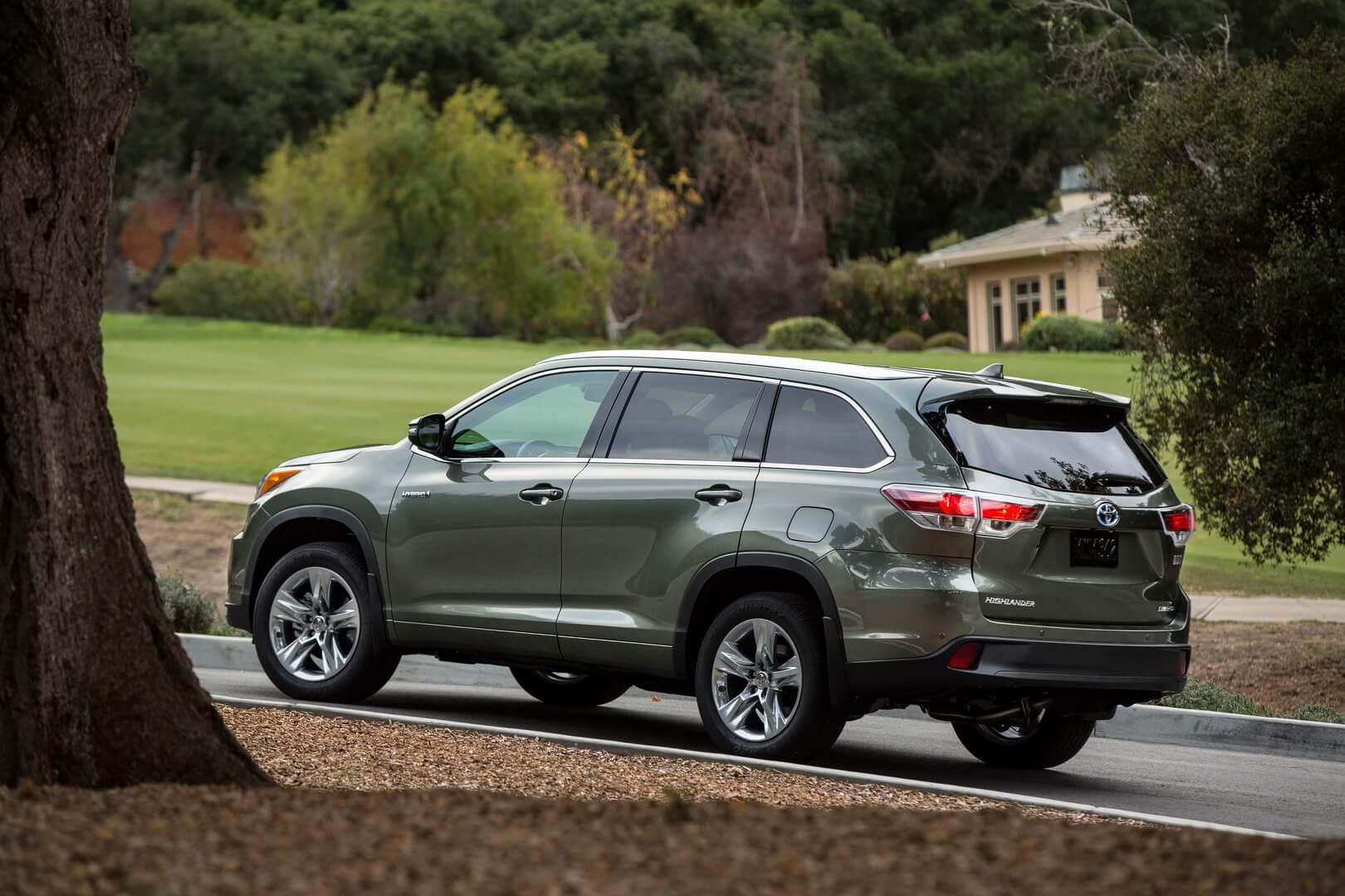 Фотография экоавто Toyota Highlander Hybrid 2014 - фото 7