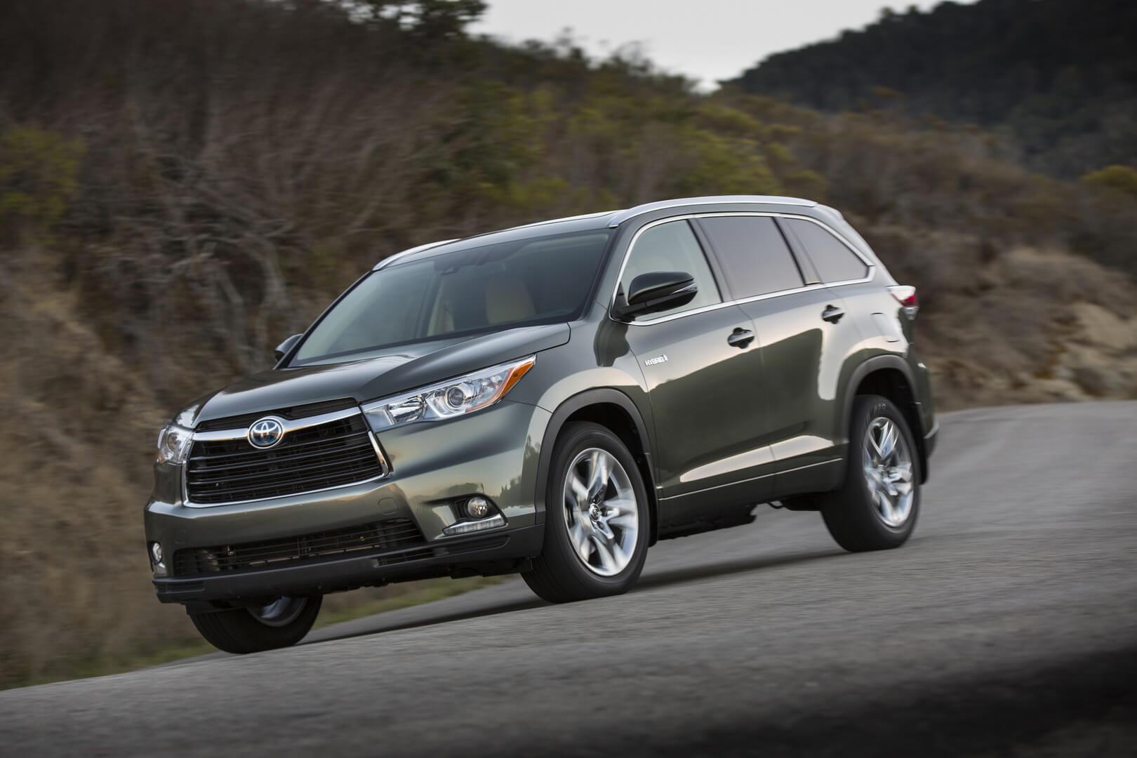 Фотография экоавто Toyota Highlander Hybrid 2014 - фото 11