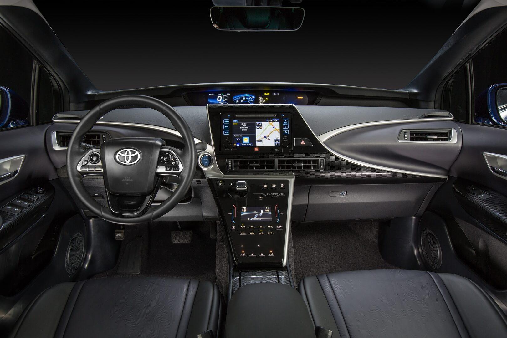 Фотография экоавто Toyota Mirai FCV - фото 24