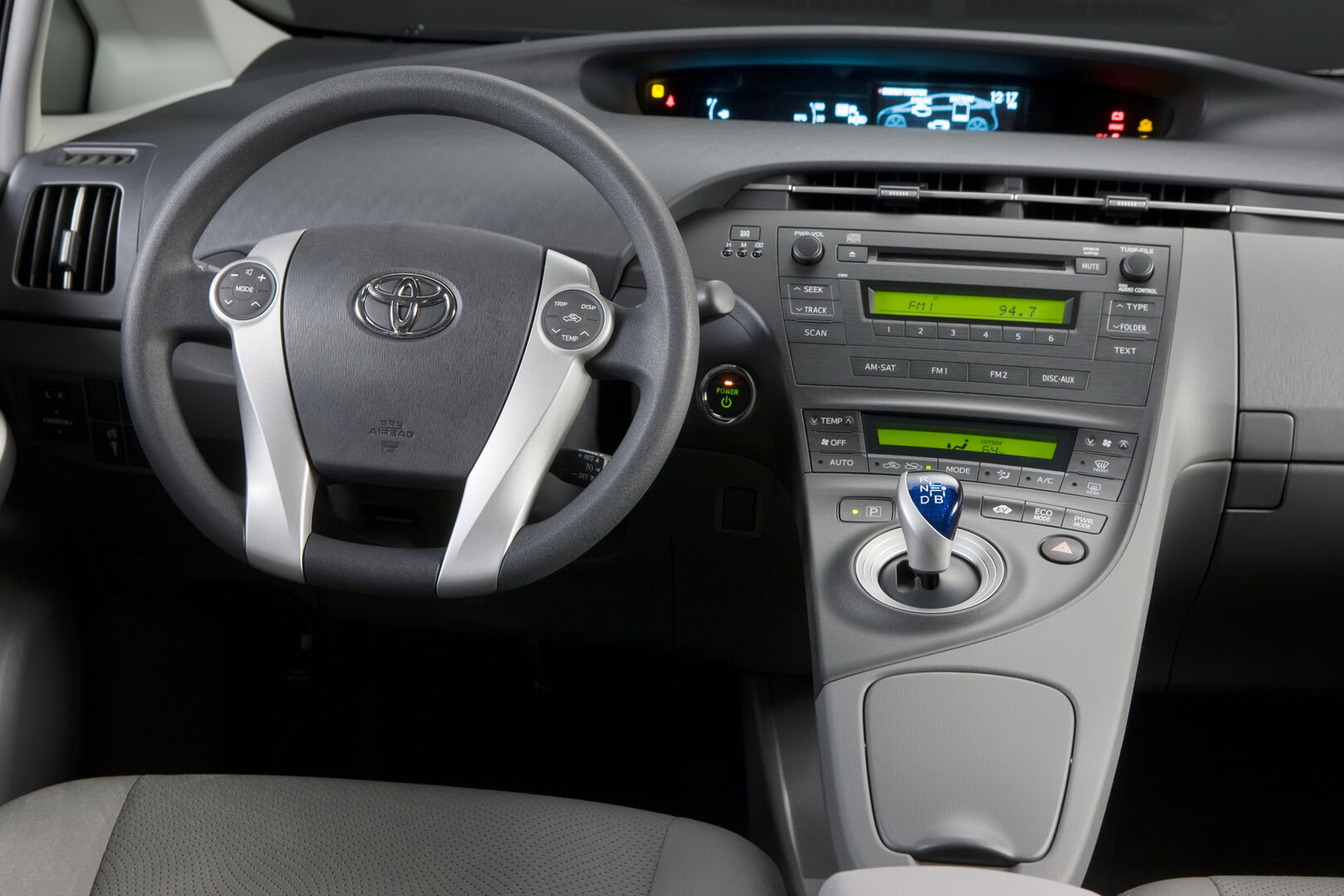 Фотография экоавто Toyota Prius Hybrid 2010 - фото 48