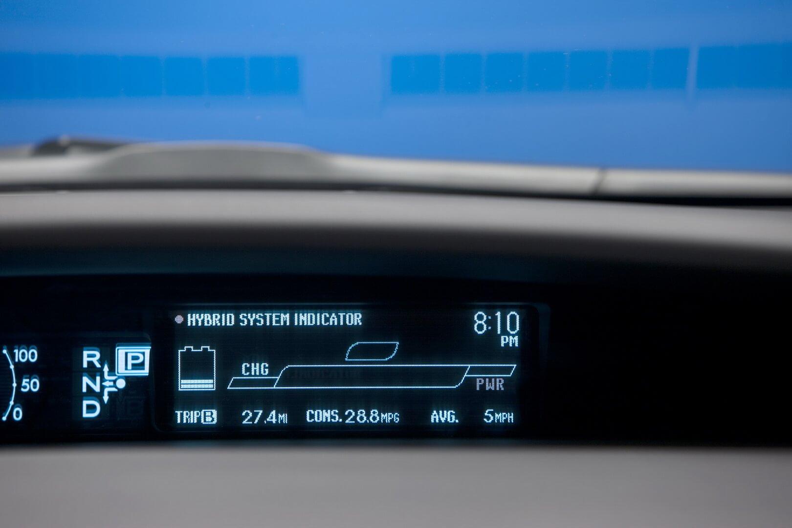 Фотография экоавто Toyota Prius Hybrid 2010 - фото 63
