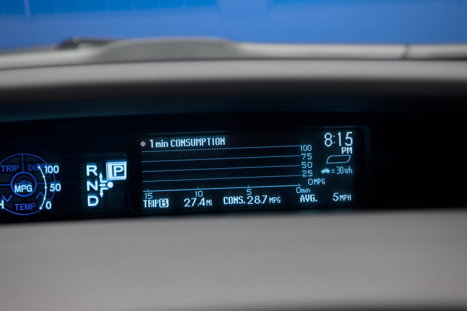 Фотография экоавто Toyota Prius Hybrid 2010 - фото 67