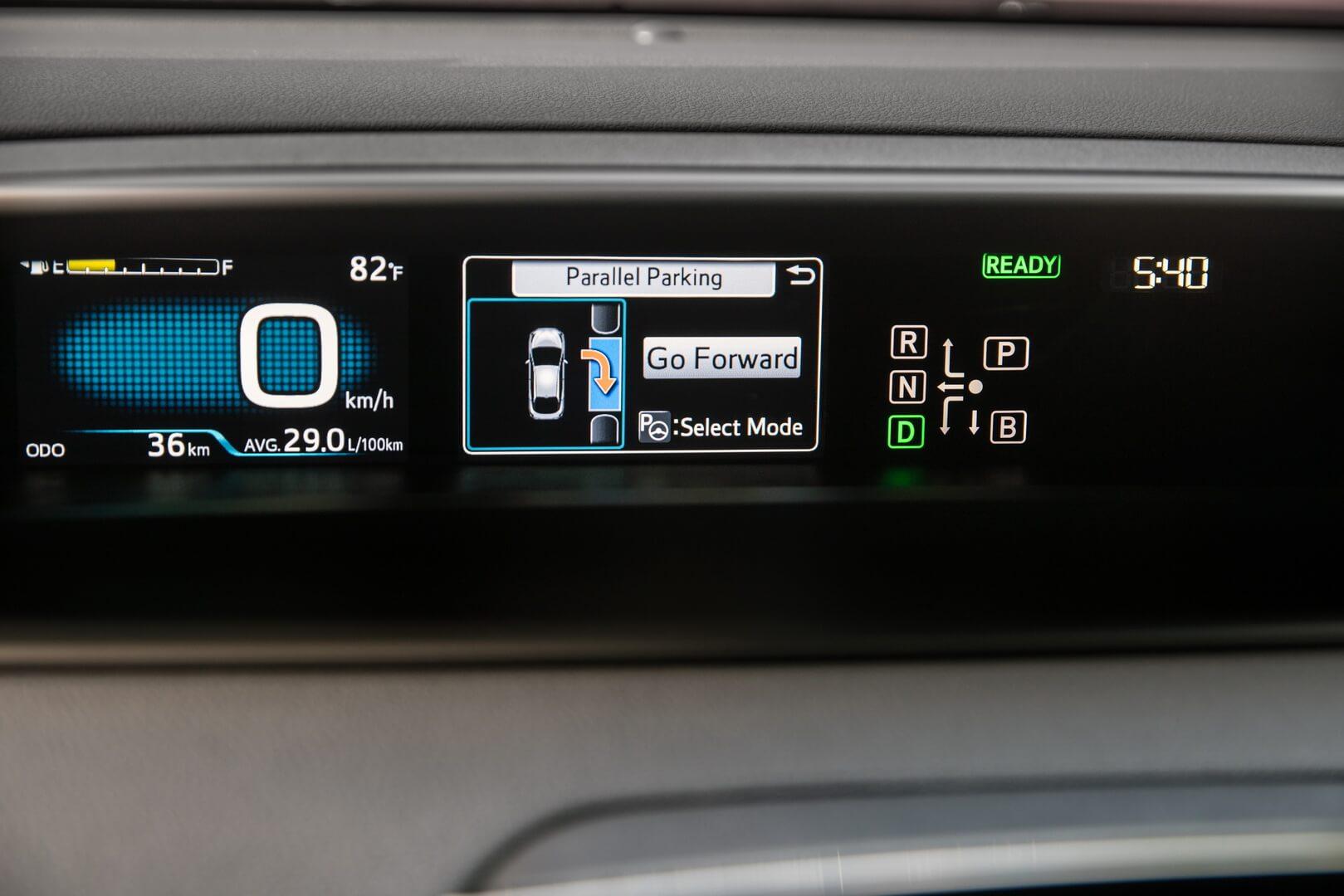 Фотография экоавто Toyota Prius Hybrid 2016 - фото 39