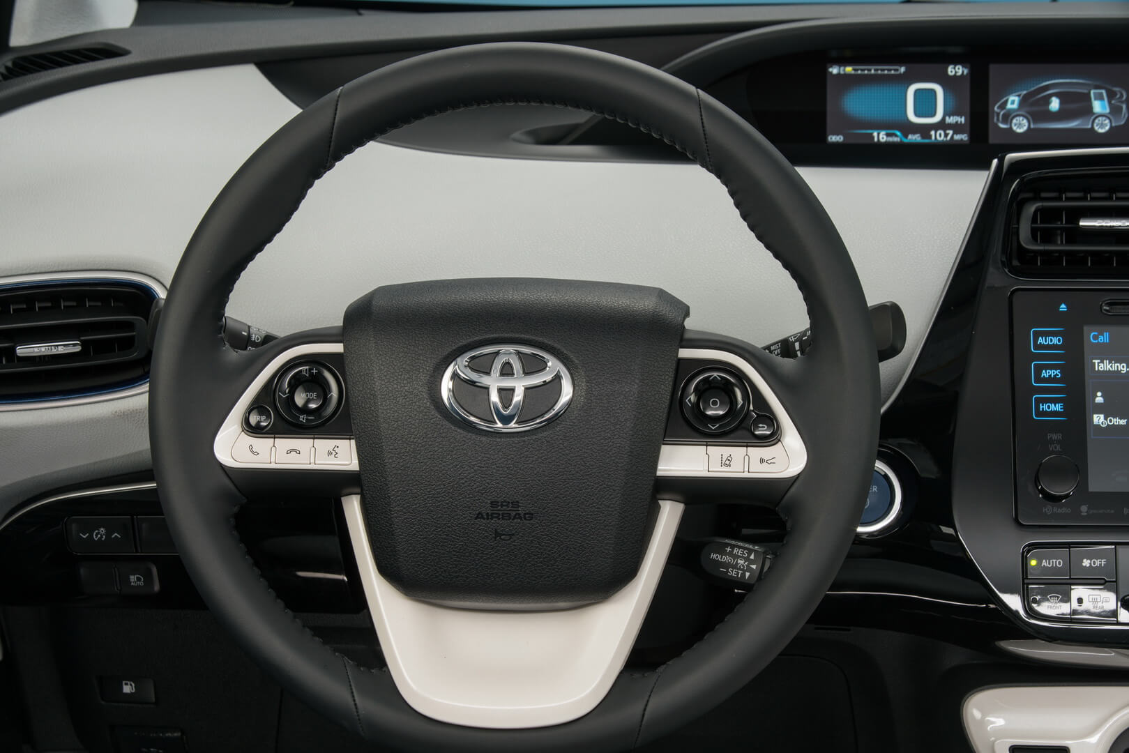 Фотография экоавто Toyota Prius Hybrid 2016 - фото 44