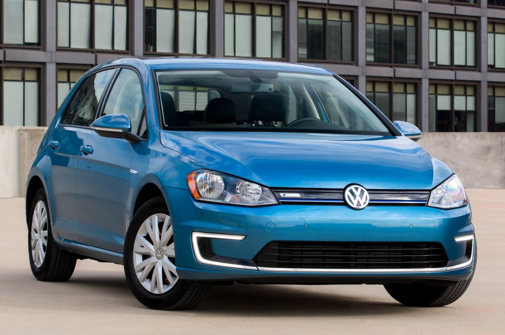 Фотография экоавто Volkswagen e-Golf 2015