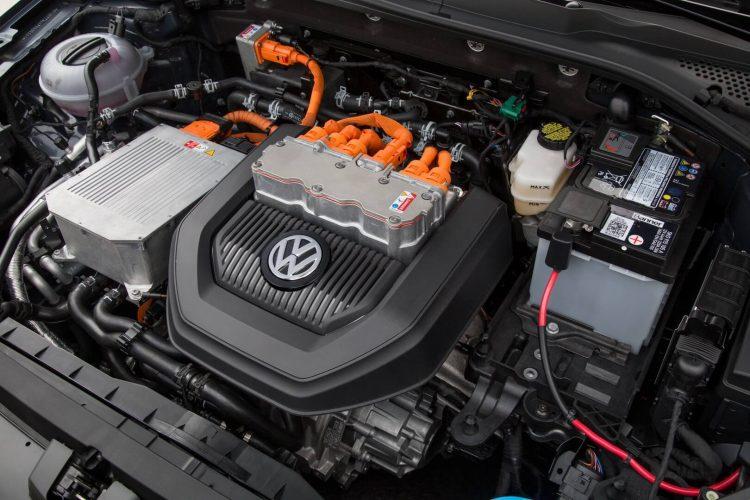 Электрический двигатель Volkswagen e-Golf
