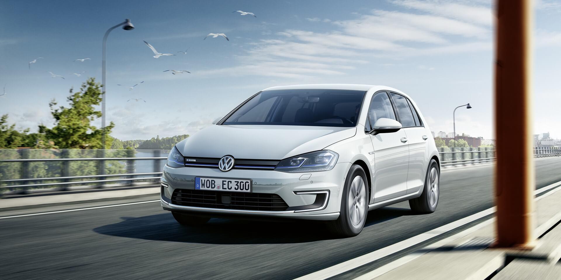 Volkswagen e-Golf — № 5 по продажам за сентябрь в Европе
