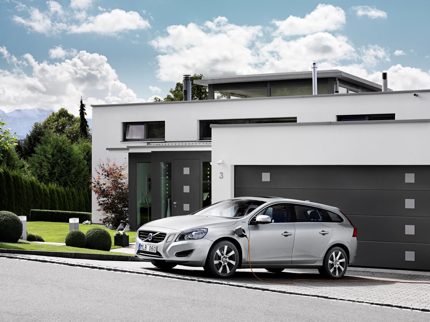 Фотография экоавто Volvo V60 PHEV - фото 4