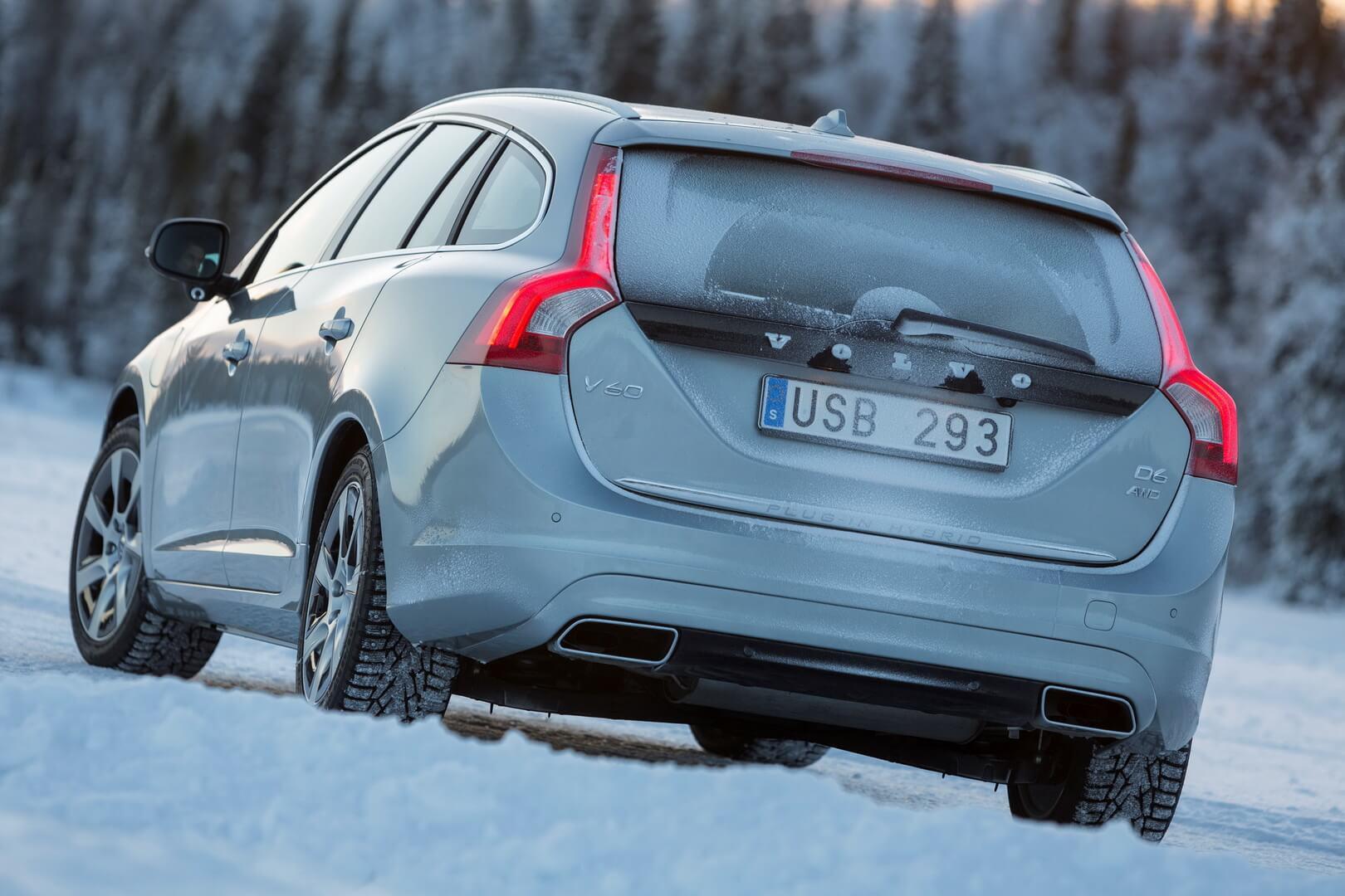Фотография экоавто Volvo V60 PHEV - фото 19